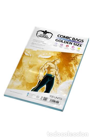 BOLSAS COMICS GOLDEN ULTIMATE GUARD CON AUTOCIERRE.TAMAÑO TOMO 19,70 X 26,8 CM PAQUETE DE 100 BOLSAS (Tebeos y Comics - Forum - Otros Forum)