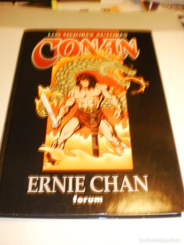 ERNIE CHAN. CONAN. LOS MEJORES AUTORES. PLANETA 1997 TAPA DURA (SEMINUEVO) (Tebeos y Comics - Forum - Conan)
