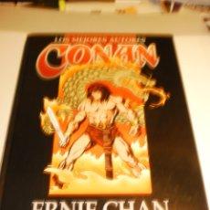 Cómics: ERNIE CHAN. CONAN. LOS MEJORES AUTORES. PLANETA 1997 TAPA DURA (SEMINUEVO). Lote 181424021