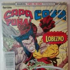 Cómics: CAPA Y PUÑAL LA COSA NÚMEROS 19, 20 Y 21 - MARVEL TWO IN ONE - RETAPADO. Lote 181457295