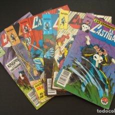 Cómics: 6 EJEMPLARES - EL CASTIGADOR - NÚMEROS 8, 13, 14, 15, 16 Y 18 - DIFÍCILES - SALIDA 0,01€. Lote 181463285