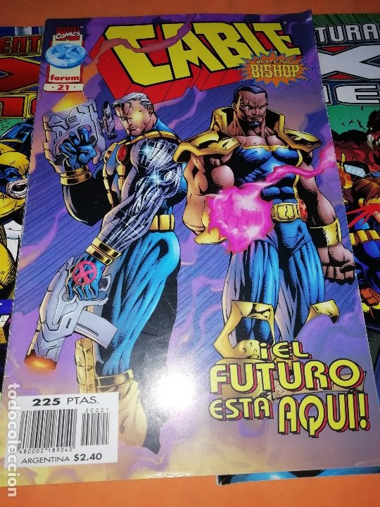 Cómics: LOTE. X FORCE Nº 24,41 Y 42. LAS AVENTURAS DE LOS X-MEN Nº 5 Y 8.CABLE Nº 21 Y MASACRE Nº 3. - Foto 6 - 181467036