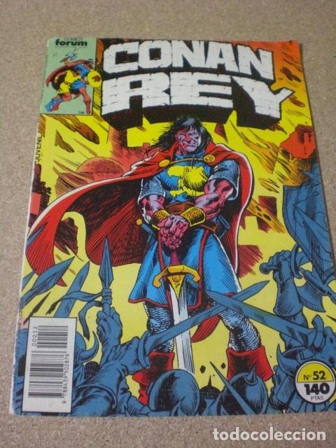CÓMICS FORUM CONAN REY 52, AÑO 1988 (Tebeos y Comics - Forum - Conan)