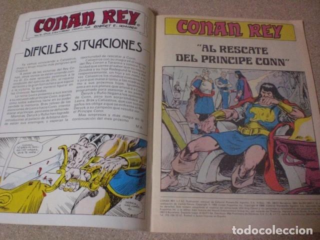 Cómics: Cómics Forum Conan rey 52, año 1988 - Foto 4 - 181502811