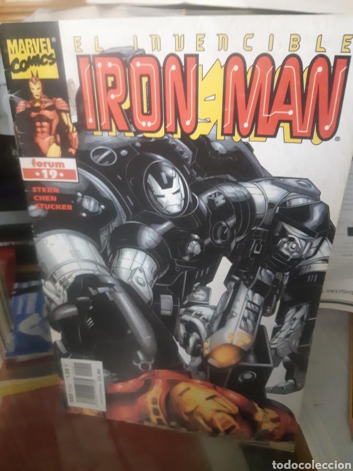 TEBEOS-CÓMICS CANDY - EL INVENCIBLE IRON MAN 19 - FORUM - AA99 (Tebeos y Comics - Forum - Iron Man)