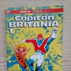 Cómics: CAPITAN BRITANIA 1 - EXCALIBUR - FORUM. Lote 181627315