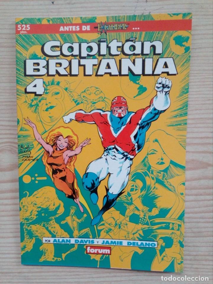 CAPITAN BRITANIA 4 - EXCALIBUR - FORUM (Tebeos y Comics - Forum - Otros Forum)
