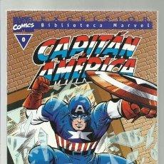Comics: BIBLIOTECA MARVEL CAPITÁN AMÉRICA 0, 2000, FORUM, MUY BUEN ESTADO. Lote 221944485