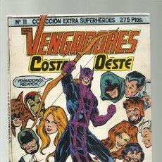 Comics: COLECCIÓN EXTRA SUPERHÉROES 11: VENGADORES COSTA OESTE, MUY BUEN ESTADO,1985, FORUM. Lote 286281553