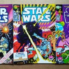 Cómics: LOTE STAR WARS, NÚMEROS 6-7-11-12-15 (CÓMICS FORUM, 1986-1987). LA GUERRA DE LAS GALAXIAS. PÓSTERS.. Lote 181763896