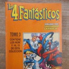 Cómics: LOS 4 FANTASTICOS - TOMO 3 - DEL 11 AL 15 - FORUM / MARVEL. Lote 181776343