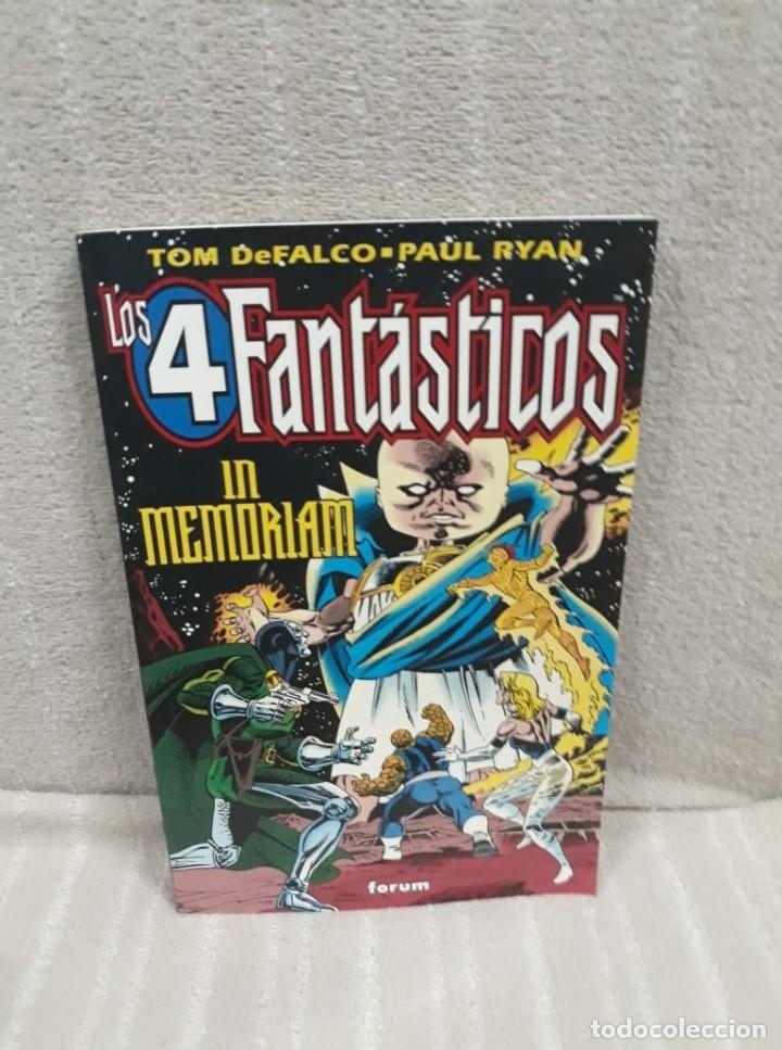 LOS 4 FANTÁSTICOS - IN MEMORIAM - FORUM (Tebeos y Comics - Forum - 4 Fantásticos)
