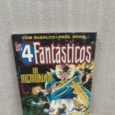 Cómics: LOS 4 FANTÁSTICOS - IN MEMORIAM - FORUM. Lote 181792482