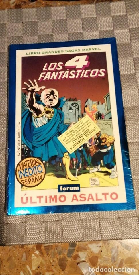 LOS 4 FANTASTICOS ULTIMO ASALTO (Tebeos y Comics - Forum - 4 Fantásticos)