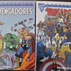 Cómics: BIBLIOTECA MARVEL LOS VENGADORES COMPLETA. Lote 182028921