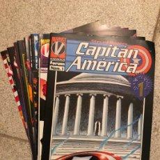 Cómics: CAPITAN AMERICA VOL. 4 - COMPLETA - 11 NUMEROS - FORUM. Lote 182035225
