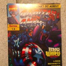 Cómics: CAPITAN AMERICA HEROES REBORN - NUMERO 12 - FORUM. Lote 182036260