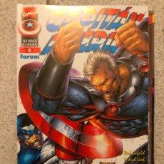 Cómics: CAPITAN AMERICA HEROES REBORN - NUMERO 4 - FORUM. Lote 182036405