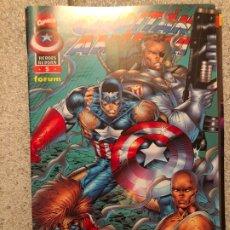 Cómics: CAPITAN AMERICA HEROES REBORN - NUMERO 5 - FORUM. Lote 182036423