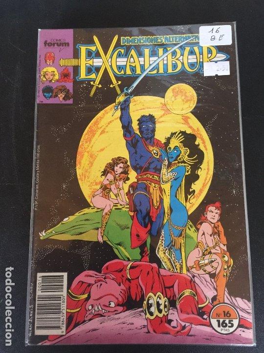 FORUM EXCALIBUR NUMERO 16 BUEN ESTADO (Tebeos y Comics - Forum - Otros Forum)