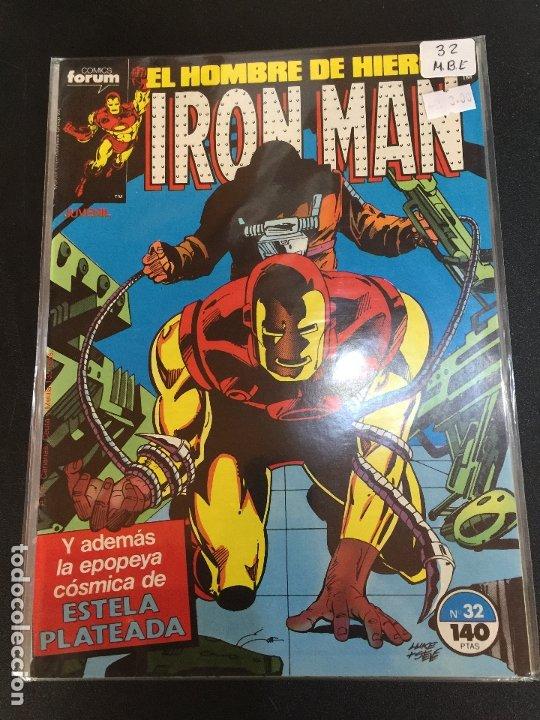 FORUM IRON MAN NUMERO 32 NORMAL ESTADO (Tebeos y Comics - Forum - Iron Man)