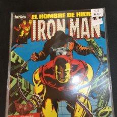 Comics: FORUM IRON MAN NUMERO 32 NORMAL ESTADO. Lote 182080106