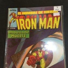 Comics: FORUM IRON MAN NUMERO 7 NORMAL ESTADO. Lote 182080207