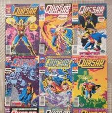 Cómics: QUASAR. EL VENGADOR COSMICO. COLECCIÓN COMPLETA DE 9 COMICS. COMICS FORUM 1993. Lote 182107056