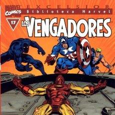 Cómics: BIBLIOTECA MARVEL VENGADORES 17. Lote 182126555