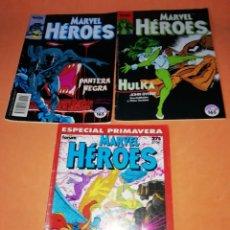 Cómics: MARVEL HEROES. ESPECIAL PRIMAVERA. PANTERA NEGRA Nº 45 Y HULKA Nº 37.. Lote 182183228