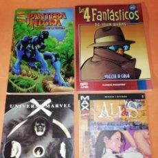 Cómics: MAX ALIAS Nº 1.UNIVERSO MARVEL X Nº1.LA PRESA DE LA PANTERA Nº 1.LOS 4 FANTASTICOS JOHN BYRNE Nº 25 . Lote 182203143