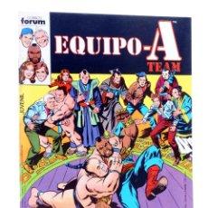 Cómics: EQUIPO A TEAM. SERIE DE TVE 2. ¿QUIÉN RAPTÓ A KURAMOTO? (SALICRUP / MOONEY) FORUM, 1987. OFRT. Lote 289203558