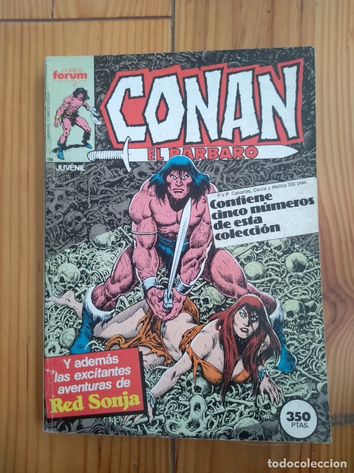 CONAN EL BÁRBARO NºS 111 112 113 114 Y 115 EN UN RETAPADO - EXCELENTE ESTADO - D4 (Tebeos y Comics - Forum - Conan)