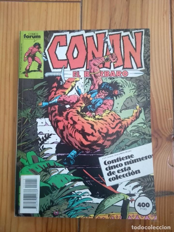CONAN EL BÁRBARO NºS 151 152 153 154 Y 155 EN UN RETAPADO - IMPECABLE D2 (Tebeos y Comics - Forum - Conan)
