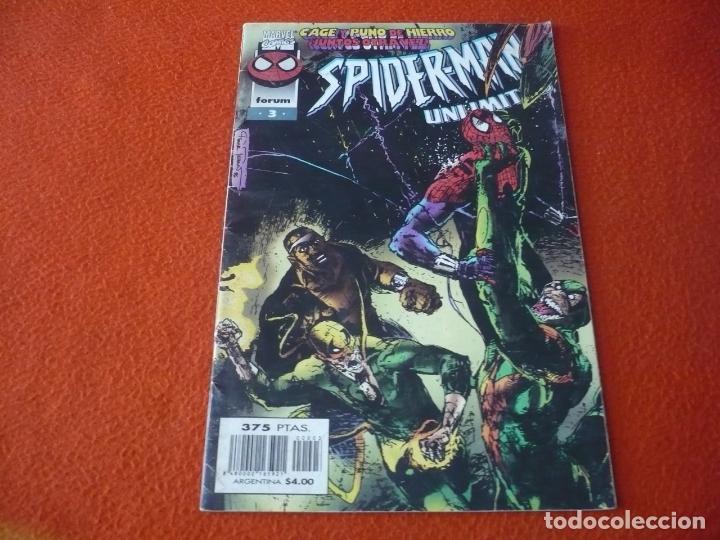 SPIDERMAN UNLIMITED Nº 3 ( BENNET ) FORUM MARVEL CAGE PUÑO DE HIERRO (Tebeos y Comics - Forum - Spiderman)