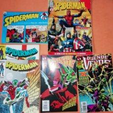 Cómics: LOTE SPIDERMAN Y DUENDE VERDE. 7 COMICS. FORUM . PANINI.. Lote 182360016