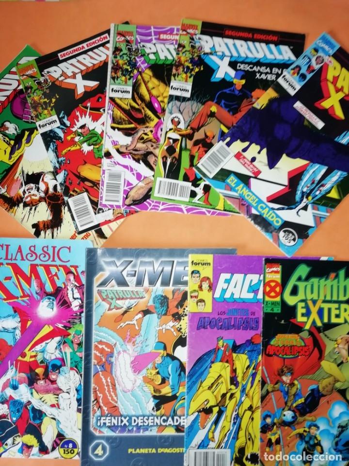 PATRULLA -X . LOTE VARIADO. 9 COMICS FORUM. NO SE VENDEN SUELTOS. (Tebeos y Comics - Forum - Patrulla X)