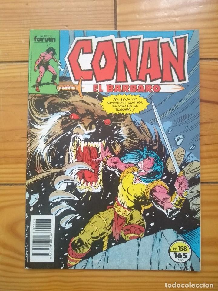 CONAN EL BÁRBARO Nº 158 - EXCELENTE ESTADO D5 (Tebeos y Comics - Forum - Conan)