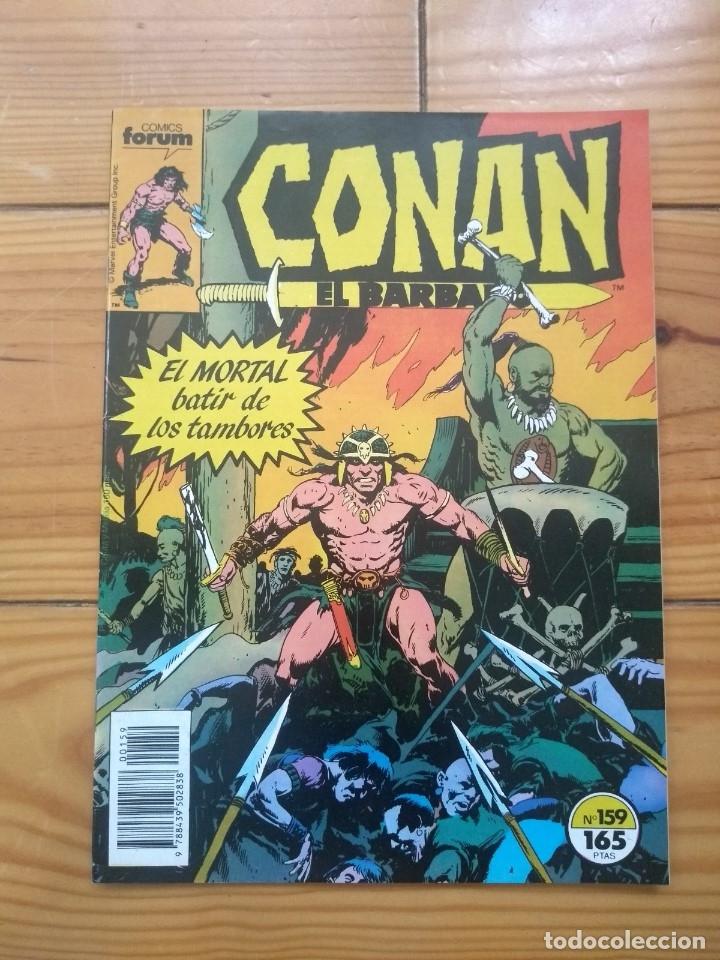 CONAN EL BÁRBARO Nº 159 - EXCELENTE ESTADO D2 (Tebeos y Comics - Forum - Conan)