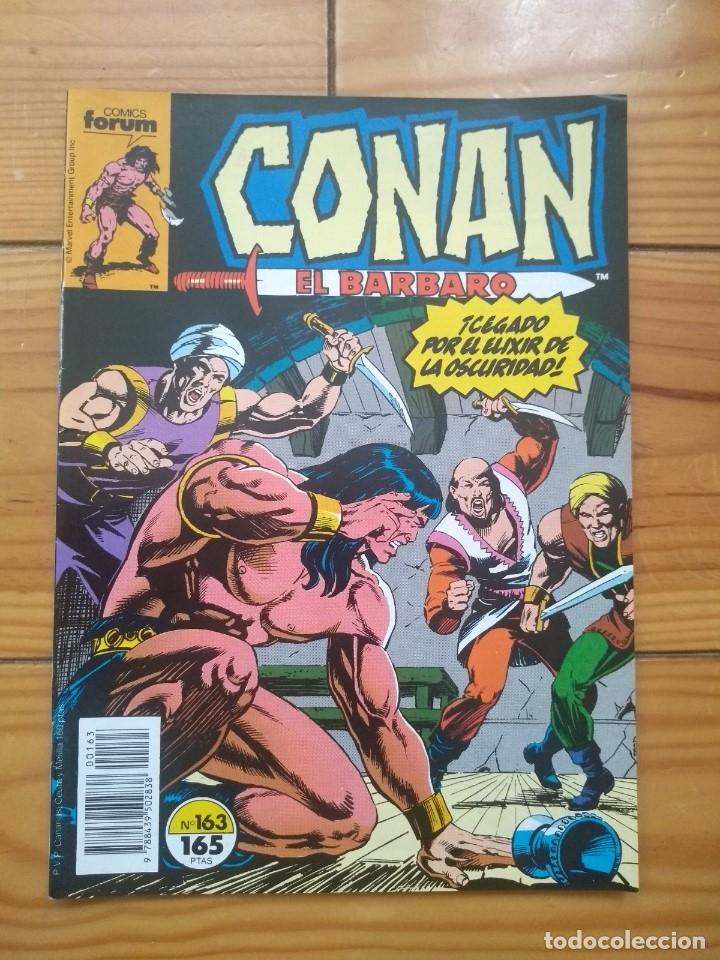 CONAN EL BÁRBARO Nº 163 - EXCELENTE ESTADO D2 (Tebeos y Comics - Forum - Conan)