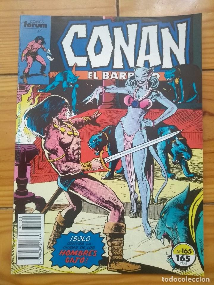 CONAN EL BÁRBARO Nº 165 - EXCELENTE ESTADO D2 (Tebeos y Comics - Forum - Conan)