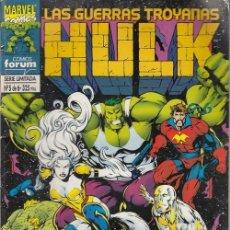 Fumetti: LAS GUERRAS TROYANAS Nº 5 DE 6 - HULK - FORUM. Lote 182490466