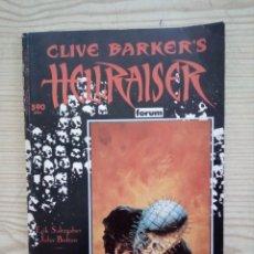 Cómics: HELLRAISER - CLIVE BARKER'S - FORUM. Lote 182504966