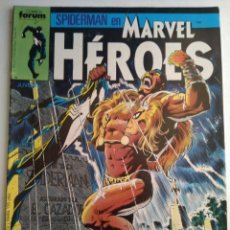 Cómics: COMIC MARVEL HEROES N°22 FORUM. Lote 182539763