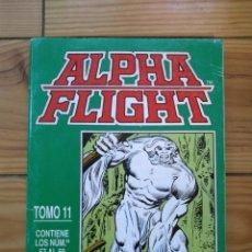 Cómics: ALPHA FLIGHT NºS 57 58 Y 59 - RETAPADO TOMO 11. Lote 182558186