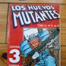 Cómics: NUEVOS MUTANTES NºS 61 62 Y 63 - RETAPADO TOMO 12. Lote 182558633