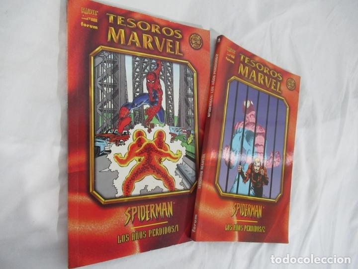 TESOROS MARVEL: SPIDERMAN LOS AÑOS PERDIDOS TOMOS 1 Y 2 COMPLETA FORUM (Tebeos y Comics - Forum - Prestiges y Tomos)