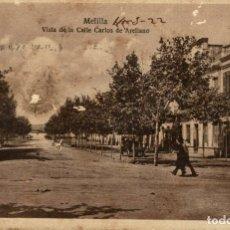 Cómics: MELILLA. VISTA DE LA CALLE CARLOS DE ARELLANO. Lote 182712713