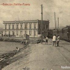 Cómics: MELILLA ESTACION MELILLA PUERTO FOTOTIPIA CASTAÑEIRA Y ALVAREZ. Lote 182712790