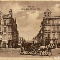 Cómics: MELILLA, VISTA CALLE ALFONSO XIII. Lote 182712877